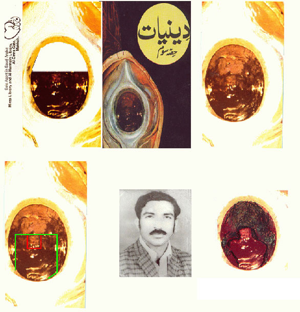 Imam Mehdi Gohar Shahi's Image - Holy Black Stone