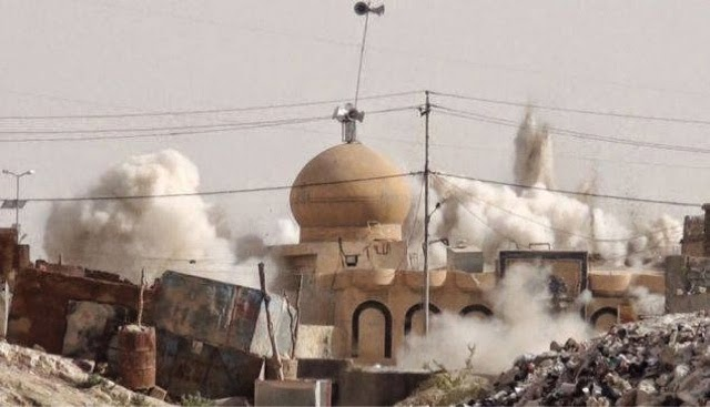 ISIS Destroying Shrines in Iraq and Syria