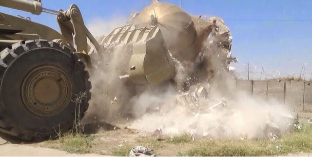 The ISIS Bulldozing by Shrines