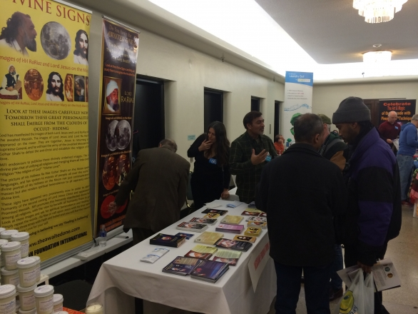 Our booth at the New Life Expo in New York City, USA.